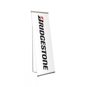 Free standing banner display and printed banner single sided - Signs and Graphics Oakham