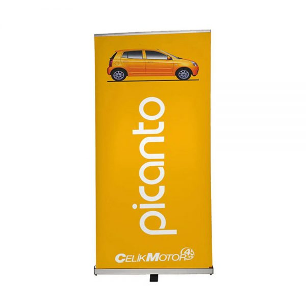 Pull up banner 1000mm with silver base - Signs and Graphics - Oakham