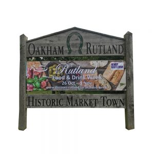 Vinyl Banners - full colour printed with hems and eyelets - Signs and Graphics - Oakham