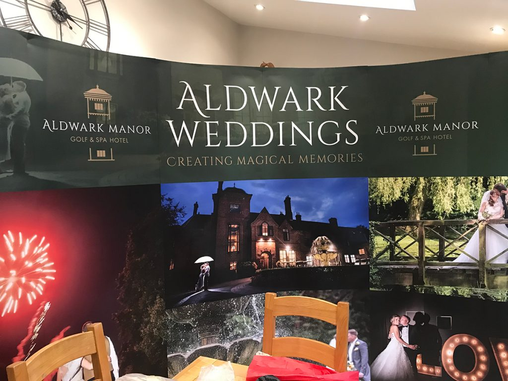 Curved Exhibition Displays - Leicestershire